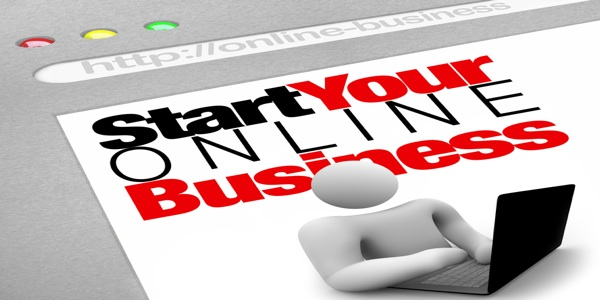 A website screen promises to instruct you on how to set up and launch your own web presence for your internet business in order to generate traffic and drive sa