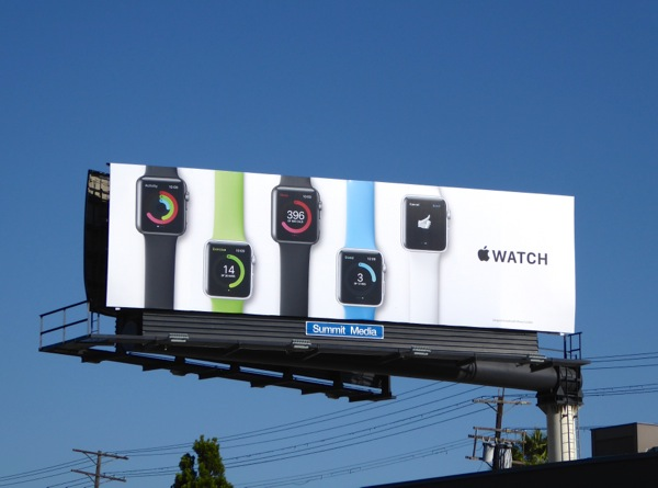 Advertising on Billboard
