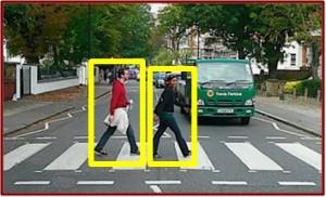 Pedestrian detector