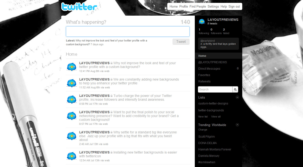 Twitter Professional