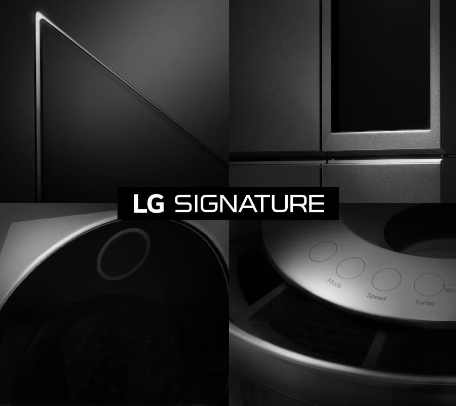CES 2016 - LG Signature