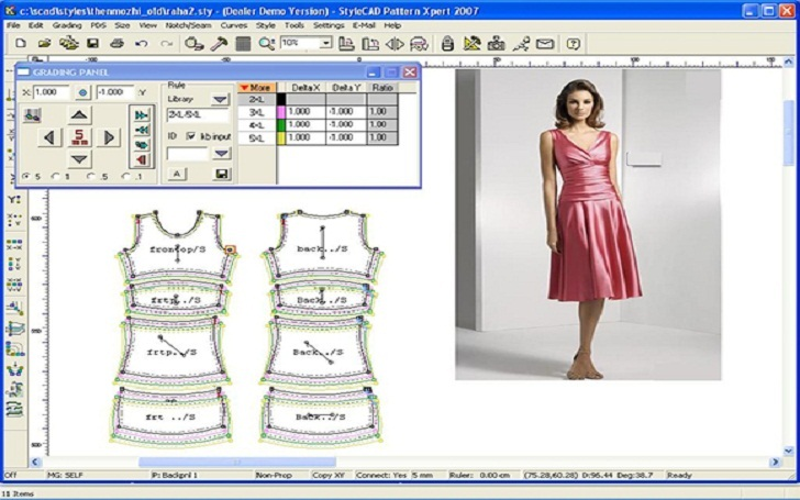 Software And Application To Design Clothes Professional