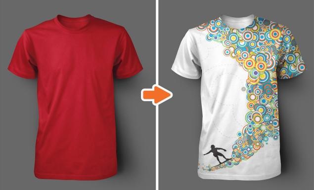 Shirt Designer Application