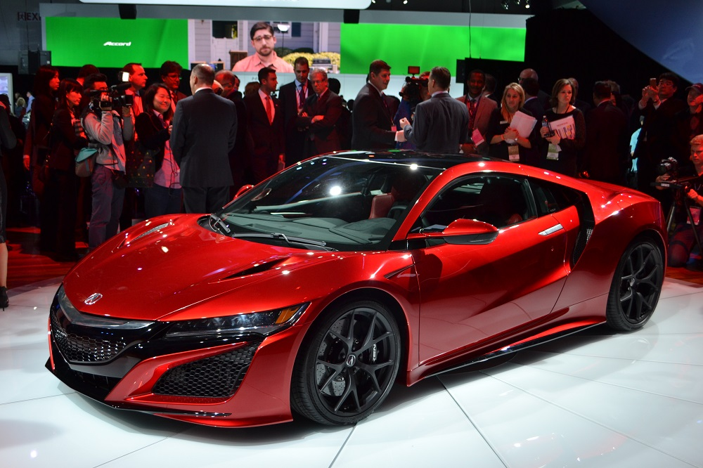 The new Honda NSX