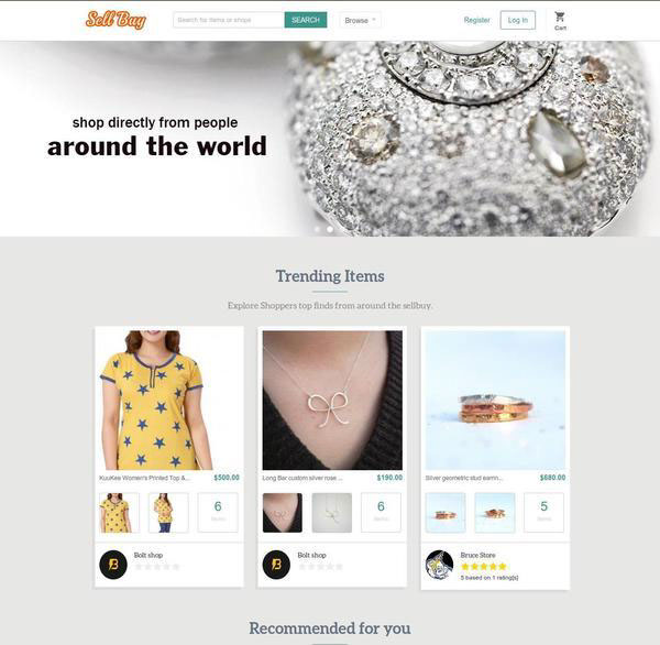 build a jewellery website