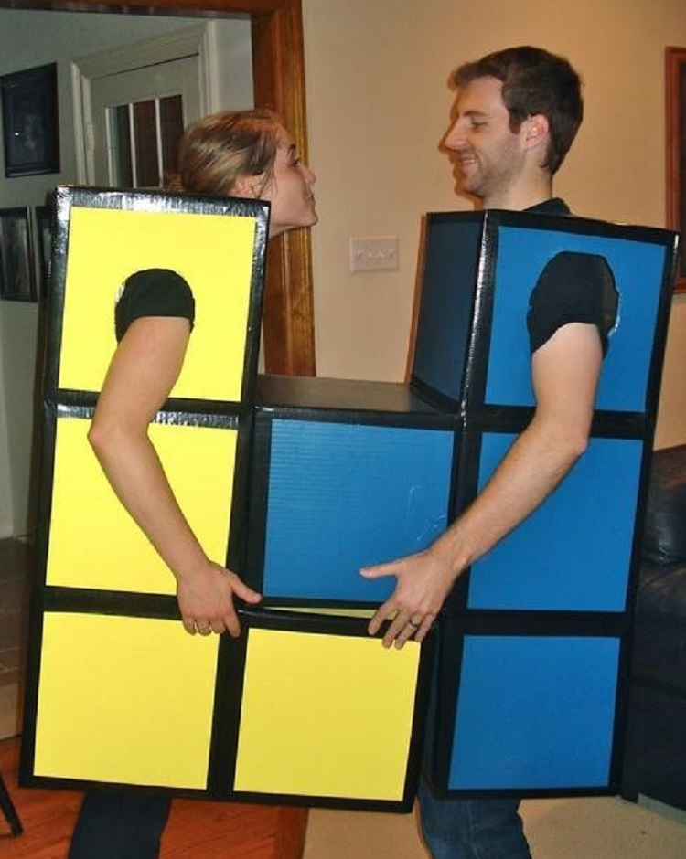 Tetris group Cosplay Costumes