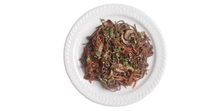 Mushroom and Soba Stir Fry