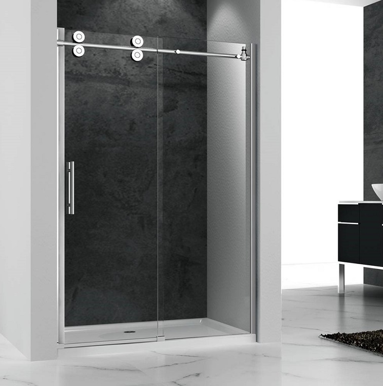 Easy clean shower door