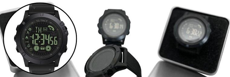 T1 Tact Midnight Diamond Smart Watch