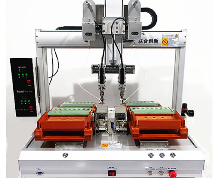 How robotic soldering machine works