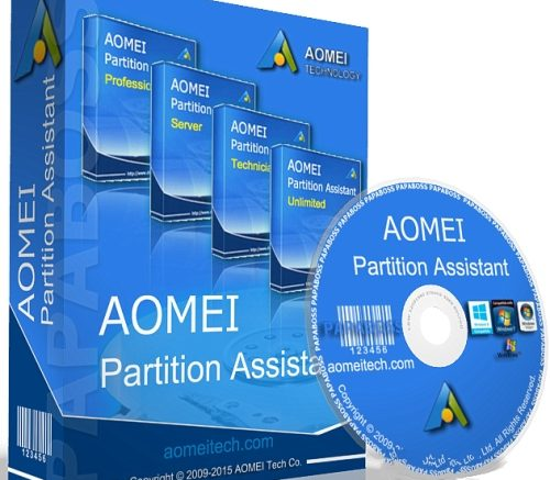Portable AOMEI Partition Assistant Technician