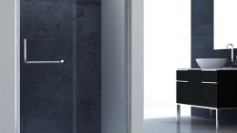 Sliding shower doors